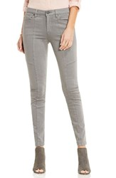 Vince Camuto Women's Two By D Luxe Stretch Twill Moto Jeans Lt Iron