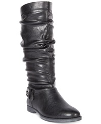 Easy Street Shoes Easy Street Vigor Wide Calf Tall Boots Women's Shoes Black