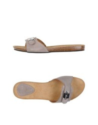 Scholl Sandals Dove Grey
