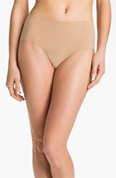 Women's Hanky Panky 'Bare Godiva' High Rise Thong Taupe