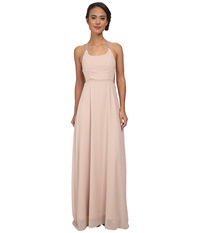Alejandra Sky Gallia Halter Dress Taupe Women's Dress
