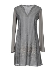 Grazia'lliani Short Dresses Grey