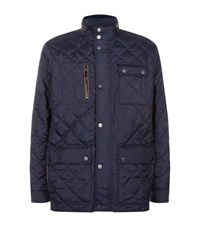 Paul And Shark Quilted Yachting Jacket Male Navy