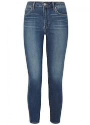 Articles Of Society Heather Blue High Rise Skinny Jeans