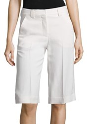 A.L.C. Laurence Solid Shorts Eggshell