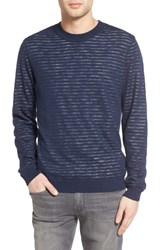 Ag Jeans Men's Luca Reversible Cotton And Linen Pullover