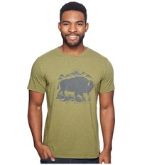 United By Blue Mountain Bison Olive Clothing
