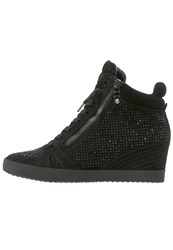 Kennel Schmenger Soho Hightop Trainers Schwarz Black