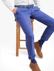 Joules Laundered Slim Fit Chinos Skipper Blue