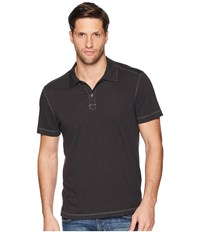 Agave Denim Cape Town Short Sleeve Polo Stretch Limo Short Sleeve Pullover Black
