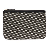 Pierre Hardy Black Large Cube Pouch