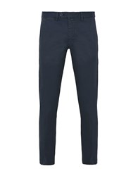 8 Trousers Casual Trousers Dark Blue