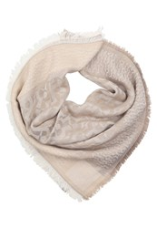 Aigner Scarf Tan Brown Taupe