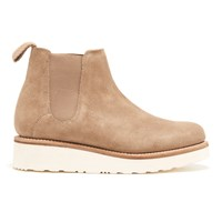 Grenson Women's Lydia Suede Chelsea Boots Cloud Tan