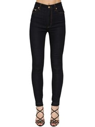 Dolce And Gabbana Stretch Skinny Cotton Denim Jeans Navy