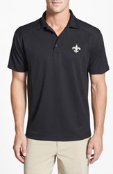Cutter And Buck 'S Big Tall 'New Orleans Saints Genre' Drytec Moisture Wicking Polo