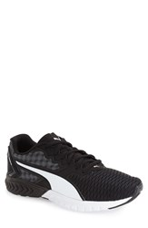 Puma Men's 'Ignite Dual' Running Shoe Puma Black Puma White