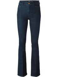 Mih Jeans 'Marrakesh' Flared Jeans Blue