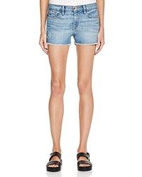 Frame Le Cutoff Shorts In Russell Cave