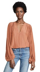 Ramy Brook Ryann Top Terracotta
