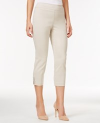 Jm Collection Cropped Straight Leg Pants Only At Macy's Stonewall