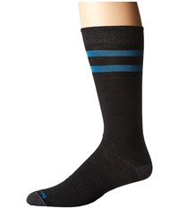 Smartwool Erving Crew Black Men's Crew Cut Socks Shoes