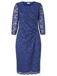 Eastex Jersey Lace Dress Navy