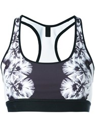 Monreal London 'Reversible' Sports Bra Black