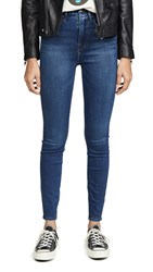 Good American Waist Jeans Extreme V At Back Blue346