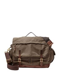 Fossil Defender Messenger Bag Brown