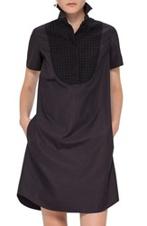 Akris Punto Women's Bib Front Cotton Shift Dress