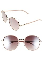 Women's Bp. 55Mm Round Sunglasses Mauve