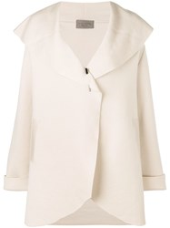 D.Exterior Oversized Cardi Coat Nude And Neutrals