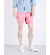 Polo Ralph Lauren Classic Fit Mid Rise Stretch Cotton Shorts Pale Red