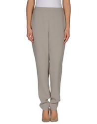 Akris Punto Casual Pants Light Grey