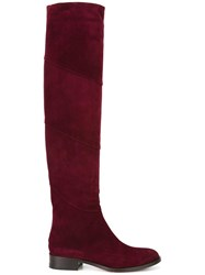 Jimmy Choo Miller Boots Red