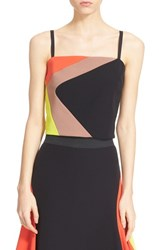 Women's Milly 'Cady' Graphic Crop Top