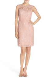 Women's Jenny Yoo 'Harper' Sequin Lace Sleeveless Sheath Dress