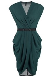 Y.A.S Yas Yasmacy Cocktail Dress Party Dress Green Gables Dark Green