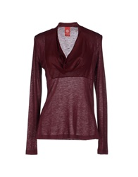 Michelle Windheuser Sweaters Maroon