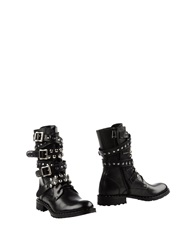 Pinko Black Ankle Boots