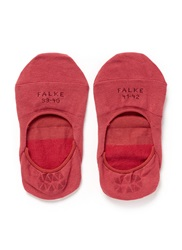 Falke 'Invisible Step' Ankle Socks Red