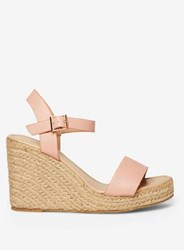4f0d577f133 Pink 'Rizzo' Espadrille Wedge Sandals