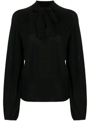 Temperley London Tied Neck Blouse 60