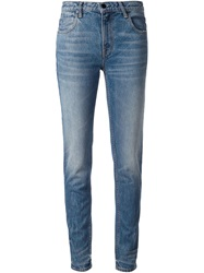 T By Alexander Wang Relaxed Slim Jeans Blue