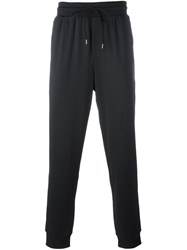 Dirk Bikkembergs Regular Fit Track Pants Black