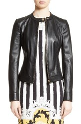 Versace Women's Collection Leather Jacket