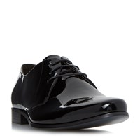 Bertie Police Smart Chiseled Gibson Shoes Black
