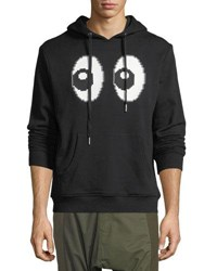 Mostly Heard Rarely Seen All Eyes On Me Hoodie Black