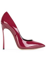 Casadei Stiletto Heel Pumps Red